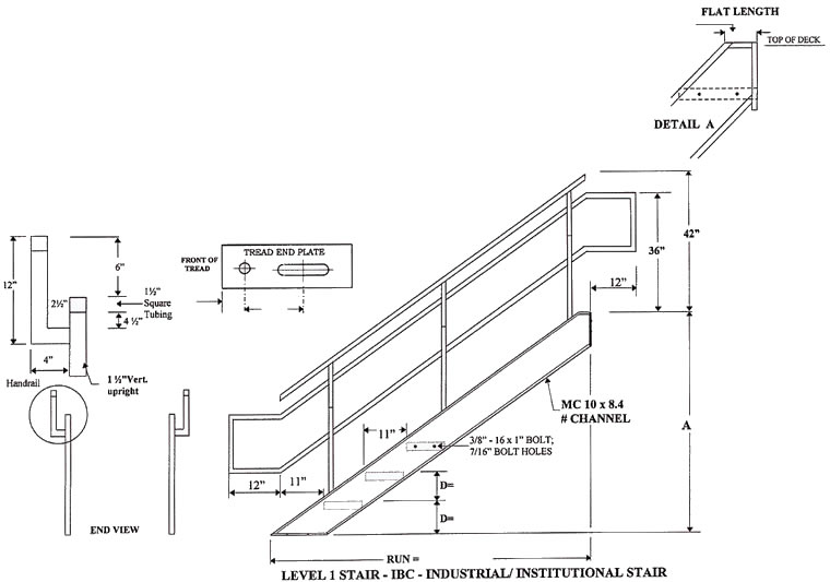 emergency exit diagram handrail