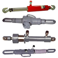 hydraulic and mechanical pulling jacks