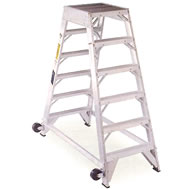 aluminum aircraft mechanic ladder