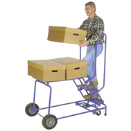 cart-n-climb comb ladder/cart