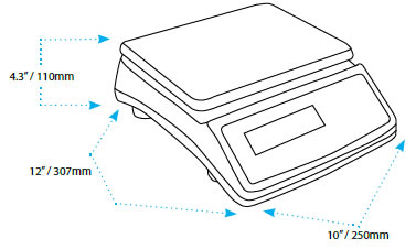 how to use a electronic balance