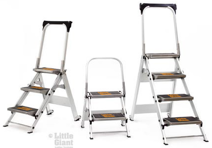 little giant  safety step ladders