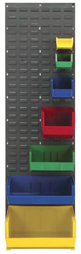louvered panels