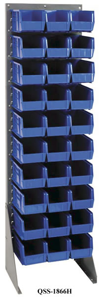 louvered rack systems