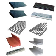 metal stairs treads