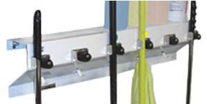 mop and broom storage - Broom Holder