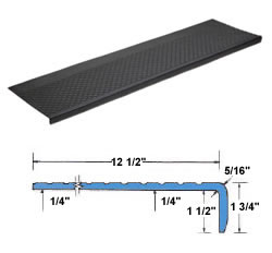 Outdoor Recycled Rubber Stair Tread Outdoor Rubber Stair Tread Rubber Stair Treads