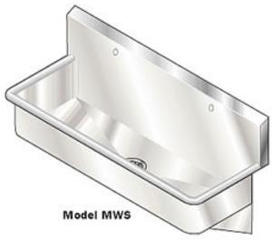 Small Wall Mount Utility Sink http://www.fsindustries.com/more_info ...