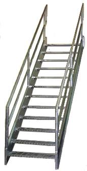 Genial Galvanized Stairways, Osha Stairs ...