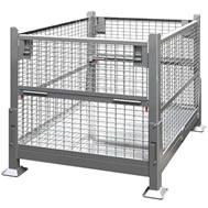 wire mesh steel bins