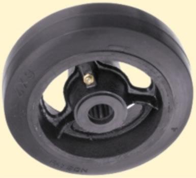 Payvulc Vulcanized Mold On Rubber Wheels Payvulc Wheels