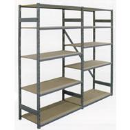 boltless steel edge shelving