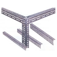 galvanized slotted angle