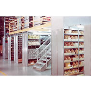 lyon 8000 series closed shelving sections