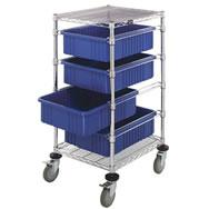 bin carts and portable computer