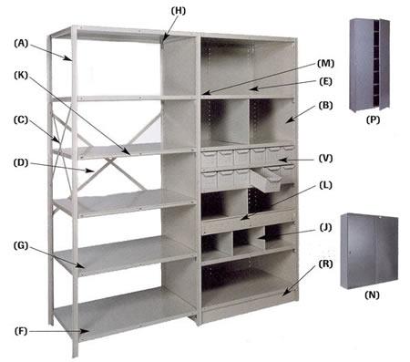 Lyon Shelving Parts And Components Bin