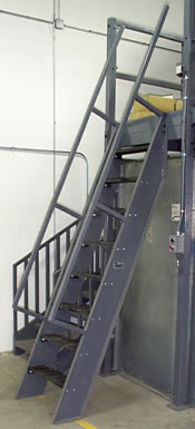 Great Ships Ladder Extented Handrail ...