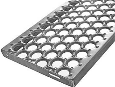 Shur Grip Stair Treads Channel Grating Treads Osha Type Galvanized