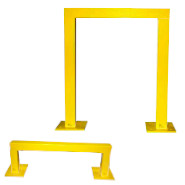 heavy duty area and machine guards