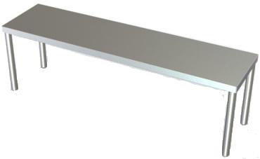 Stainless Steel Overshelf ...
