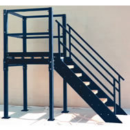 Prefabricated Stairs Fixed Vertical Ladders Osha