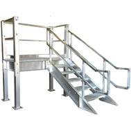 prefabricated stair landings