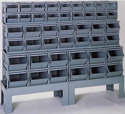 bins corrugated steel containers metal bins metal storage bins stack bins stackable containers stackbins