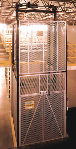 Hydraulic Material Lift : Straddle vertical lifts mezzanine lift custom industrial
