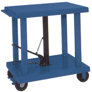 hyd. lift tables medium and heavy duty