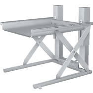 stainless steel ground entry lift table