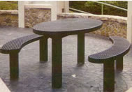 pedestal polysteel tables