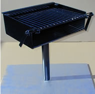 charcoal and campfire grills