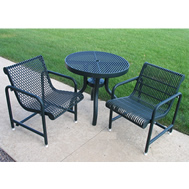polysteel tables & chair