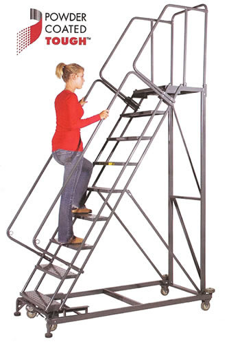 EXTRA HEAVY DUTY, Safety Rollig Ladder