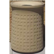 concrete waste container