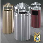 Canopy Top waste receptacles