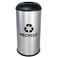 Steel Recycling Receptacle
