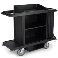 plastic x-tra housekeeping carts