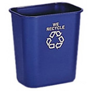 recycling deskside containers