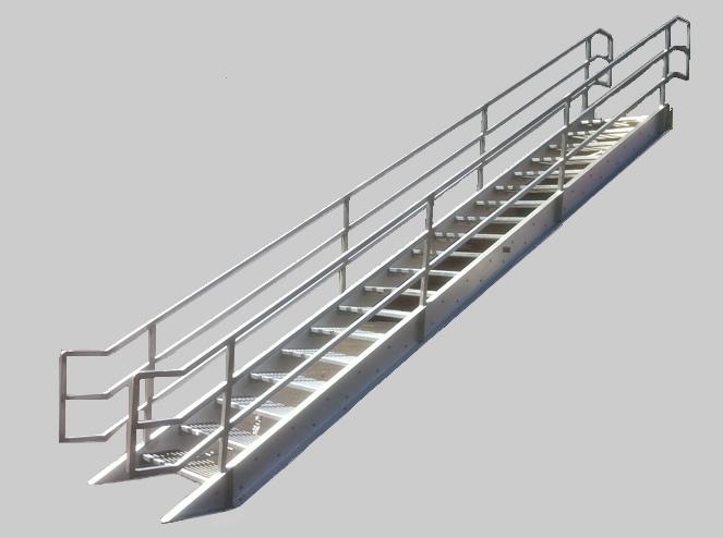 F S  Industries  Inc BPM Select   The Premier Building Product Search Engine   aluminum  . Prefab Metal Exterior Stairs. Home Design Ideas