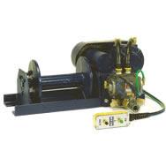 pneumatic winch-hoist